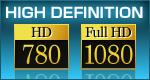 HD, FullHD
